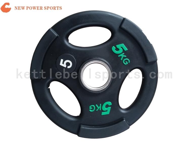 NP600232 PU Trip-grip Weight Plate
