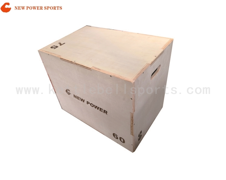 NP800128 Three in One  Wooden Plyo box