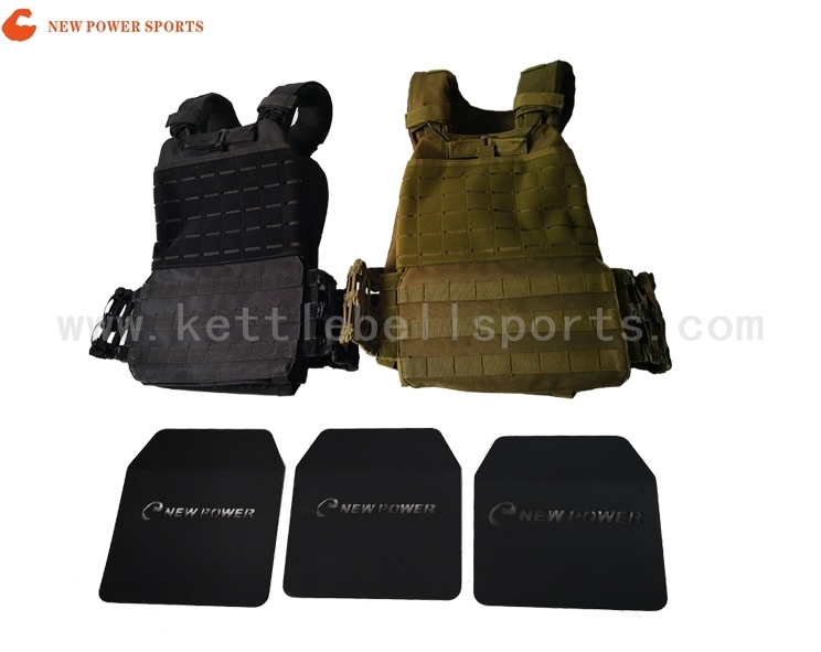 NP1300211  Weight Vest With Steel Plate